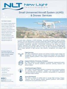 Small Unmanned Aircraft System (sUAS) & Drones Services